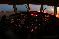 Night Flying (dbcnwa) Tags: plane airplane flying airport colorado metro aircraft aviation cockpit coloradosprings flugzeug cos fairchild avion turboprop swearingen aeronautical metroliner aeroplano sa227 metroiii coloradospringsairport kcos