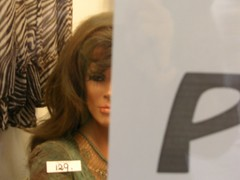 Sale (Pensive Dummy) (AndreasC) Tags: italy mannequin shop italia trento shopwindow dummy pict454811