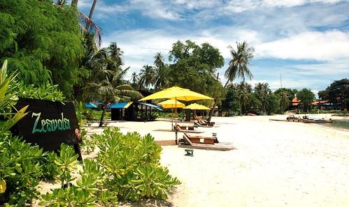 El hotel Zeavola en Phi Phi