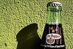 Drink Dr. Pepper! (Darwin Bell) Tags: green topf25 dinner star bottle fridge 4 gourmet drpepper explore pools 50faves twopair 25faves sfchronicle96hrs abigfave 30faves30comments300views