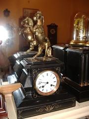 Darth Vader (Battersea Clocks Home (aka westminsterclocks)) Tags: clock french slate mantle