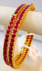 Red and Yellow *sigh* (Edge of Space) Tags: pakistan red yellow gold jewellery pakistani karachi haye bangles designerwear
