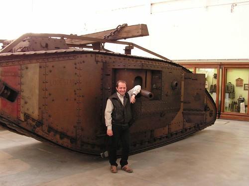 English tank MkII