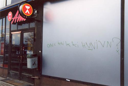 El alko y un extraño mensaje