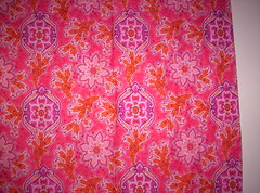 pink batik (Belledame73) Tags: pink inspiration fabric cotton decor breastcancer batik hotpink homesweet apartmenttherapycure apartmenttherapynewyork passionatelypinkforthecure