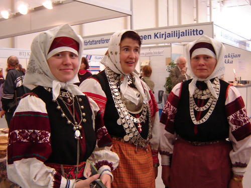 Setu singers at Turku book fair