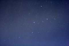 Cassiopeia through thin clouds (jpstanley) Tags: sky night stars constellation 50mmf18 cassiopeia