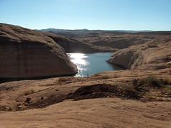 Lake Powell (ramonarocks) Tags: sunset arizona lake utah sand sam desert canyon chia lakepowell watercave bathtubring