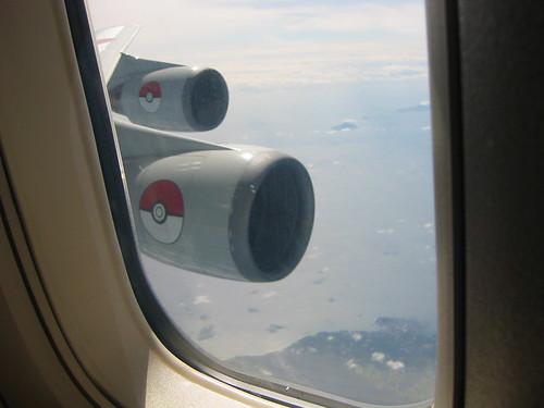The ANA Pokemon Plane