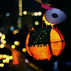 childhood's favourite* rabbit (* tathei *) Tags: city moon festival canon island hongkong eos iso3200 28mm central chinese 5d lantern tradition dslr squared midautumn