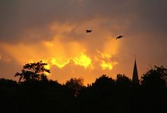Morning (f)light (Harry Mijland) Tags: sun sunlight holland church netherlands dutch duck utrecht nederland alpha zon kerk eend a100 zonlicht eenden maarssen dearharry sonyalpha harrymijland