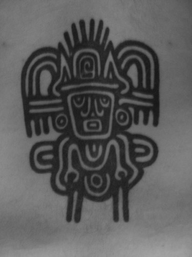 aztec tattoo art. Aztec Tattoo
