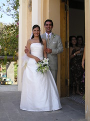 pepe and narda entering the church (garrybennett) Tags: 2005 mexico garry