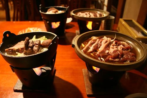 夕食@塔の沢 一の湯 本館