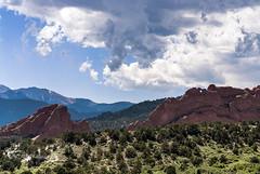 Garden of the Gods (Raymone Creation by Tinamarie) Tags: garden gods colorado mountains