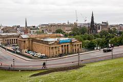 Edinburgh and The Mound (IceNineJon) Tags: unitedkingdom themound scotland edinburgh canon5dmarkiii photography europe greatbritain scottishnationalgallery 5dm3 britain uk gallery city art