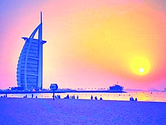 Burj Al Arab (venzsala) Tags: travel sunset burjalarab dubai