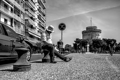 Thessaloniki, street photography (Andreas Mamoukas Photography) Tags: thessaloniki macedonia greece street streetphotography seafront macedoniagreece timeless μακεδονια