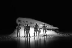 """Plastic"" - Macro Mondays (giancarlo_darrigo) Tags: macro macromondays ""plastic"" nikond7100 bw blancoynegro biancoenero blacktoback hmm transporter transportation teletrasporto astronave spaceship teleportation"