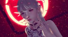 ψ( ` ∇ ´ )ψ (Abstracode) Tags: taketomi red contraption osmia emarie slackgirl vibing cureless mandala catwa hanako joplino 700 secondlife sl evary mug