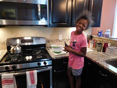 Future Iron Chef, Jaeda. (Apartment 4 G Photography.....) Tags: kids vacationnc vacation waterburyct cy nc knightdale westknightdale princetonmanor baking flourpower ironchef food jaeda rivera rayrivera nikon nikona7000 foodie