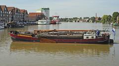 Historic sail ship Tjalk (Manfred_H.) Tags: vehicles fahrzeuge ships schiffe segelschiffe historic historisch historischefahrzeuge tjalk dutch holländisch