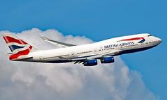 G-CIVF - Boeing 747-436 - LHR (Seán Noel O'Connell) Tags: britishairways ba gcivf boeing 747436 b747 b744 747 speedbird heathrowairport heathrow lhr egll 09r bos kbos ba203 baw50g aviation avgeek aviationphotography planespotting