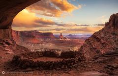 Ancient Kiva (jjohnsonphotography1) Tags: kiva canyonlands false moab utah sunset native american south west