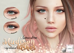 WarPaint @ TLC August (Mafalda Hienrichs) Tags: warpaint catwa lelutka war paint secondlife liaison collaborative tlc event eyelashes applier makeup