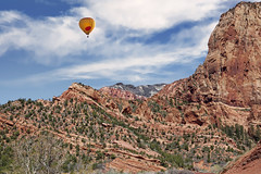 Kolob Canyon  7 (Largeguy1) Tags: approved kolob canyon landscape blue sky mountains canon 5d mark ii