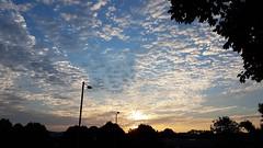 The Golden Hour (Worcestershire UK) Tags: thegoldenhour daybreak sunshine sunrise firstlight yellow cloudy bluesky skyline golden