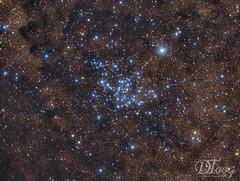 An Open Star Cluster - Messier 23 (Delberson Tiago) Tags: astronomy astrophotography astrofoto astrofotografia astronomia astrophoto amateur cosmos universe universo stars starfield starcluster sky messier milkyway deepsky dso ceuprofundo astrometrydotnet:id=nova2713375 astrometrydotnet:status=solved