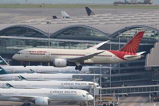 VT-ANH, 787-8, Air India, Hong kong