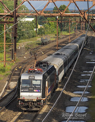 East Dover Yard and Morris & Essex Line. (bozartproductions) Tags: alp new jersey transit dover east electric commuter