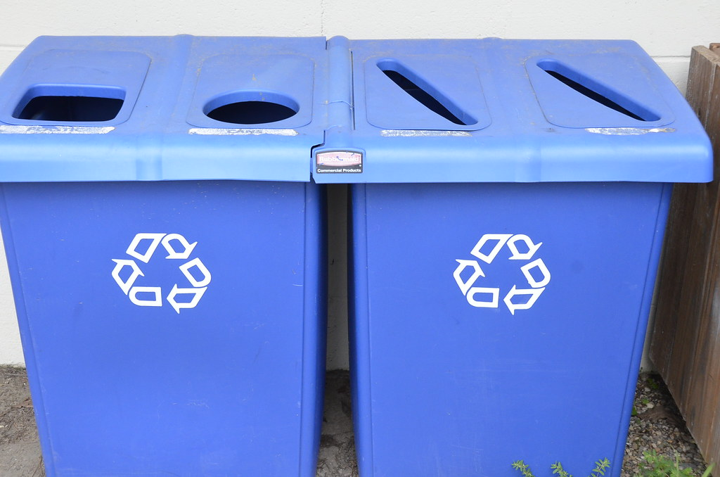 Recycle bins by vastateparksstaff, on Flickr