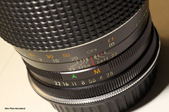 Macro Penney Lens (Retro Photo International) Tags: macro camera equipment jc penney lens carl zeiss jena tessar 50mm 35 7dwf