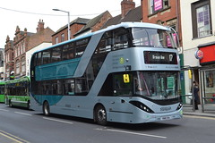 Nottingham City Transport 431 YN18SVA (Will Swain) Tags: nottingham 6th april 2018 nottinghamshire city centre bus buses transport travel uk britain vehicle vehicles county country england english nct williamsdigitalcamerapics100 431 yn18sva