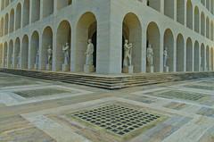 Palazzo della Civiltà Italiana (Rome) (rickybon) Tags: eur palazzodellaciviltà rome architecture pentaxk5 pentaxflickraward pentaxart pentax k5 riccardobonelli