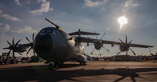 RAF 70 Sqn Airbus Atlas A400M ZM411