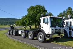 2018 Mack TE126 Chassis (Trucks, Buses, & Trains by granitefan713) Tags: macungie macungie2018 atcanationalmeet atca antiquetruckclubofamerica truckshow show truck mack macktruck terrapro mackterrapro chassis te mackte te126 concretepumperchassis