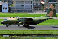 1318 Taiwan - Air Force Lockheed Martin C-130H (阿樺樺) Tags: 1318 taiwanairforce lockheedmartin c130h