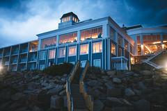 Cliff House (Zac Staffiere) Tags: wedding couple mainecoast capeneddick newenglandbeaches