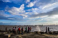 Patenga, Chittagong, Bangladesh (Galib Emon) Tags: landscape cloud people travel patenga chittagong bangladesh chattagram explore beautiful sky blue cloure canon galibemon flickr sea cloudy outdoor canoneos7d seaside patengasea bayofbengal explorechittagong explorebangladesh water lifestyle