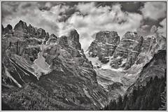Dolomitenimpression (BKFofOF) Tags: trentino altoadige südtirol fx d610 nikon italia italy alpen alpine bnw blackandwhite dürrensee toblach