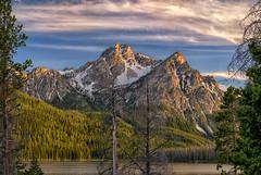 A Mt. McGown Morning (Philip Kuntz) Tags: sunrise dawn daybreak morning firstlight mtmcgown sawtooths sawtoothmountains stanleylake stanley idaho peaks