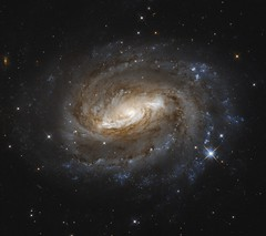 NGC 6000 (geckzilla) Tags: galaxy spiral ngc6000 hubble hst nearinfrared visible stars sn2010as bulge bar propid15166 15166
