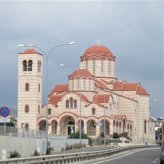Agios Arsenios Church from A1 Highway, Limassol, Cyprus (Paul McClure DC) Tags: cyprus lemesos limassol may2018 church historic architecture orthodox
