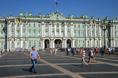 Shore Leave, St Petersburg, Russia (globetrekimages) Tags: winterpalace hermitage palace architecture building russia stpetersburg saintpetersburg санктпетербу́рг