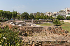 Ancient Roman Forum in Thessaloniki (marcoverch) Tags: griechenland chalkidiki afytos kassandra greek urlaub thessaloniki decentralizedadministrationof decentralizedadministrationofmacedoniaandthrace gr travel reise architecture diearchitektur noperson keineperson building gebäude outdoors drausen sky himmel house haus city stadt summer sommer water wasser tree baum tourism tourismus landscape landschaft ancient alt old sight sicht stone stein road strase grass gras urban städtisch children stars lego boeing spring flickr fly deutschland hiking mist romanforum