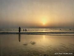 L'épouvantail (JEAN PAUL TALIMI) Tags: jeanpaultalimi nature talimi biscarrosse beach aquitaine mer coucherdesoleil calme ciel landes france solitude sudouest plage sable ocean eau océan